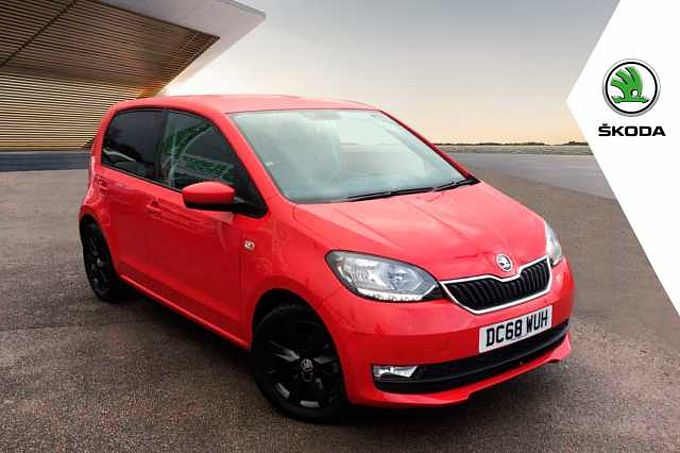 SKODA Citigo 1.0 (60ps) Colour Edition GreenTech 5Dr
